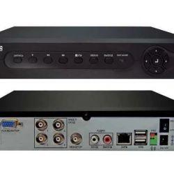 DVR για 16 κάμερες για παρακολούθηση βίντεο