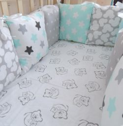 Side pillow sheets with elastic band as a gift