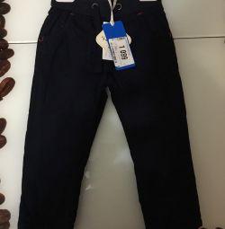 Новые брюки с начесом