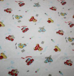 Pack of fabrics (Velor)