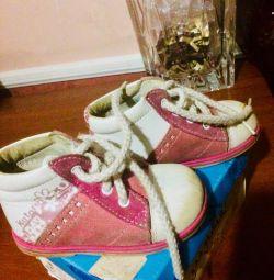 черевики шкіра
