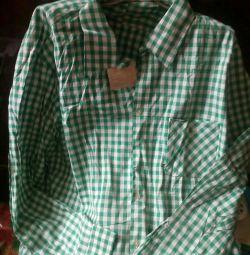 Erkek gömleği, büyük beden-56-58.yeni, ma'dan