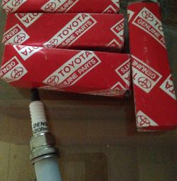 Spark plugs for Toyota.