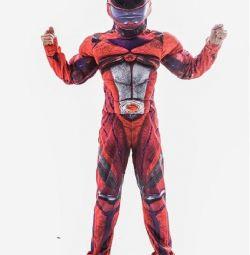 Costumul de carnaval al Mighty Ranger