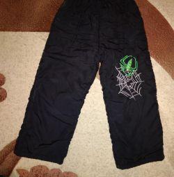 Pantaloni Bologna pe fleece