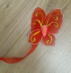 Κουρτινόξυλο για πεταλούδα