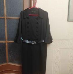 Ofis için klasik elbise
