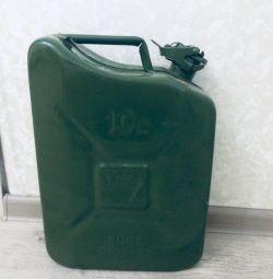 Каністра для бензину 10 літрів