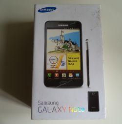 Κουτί από τη συσκευασία SAMSUNG Galaxy Note N7000