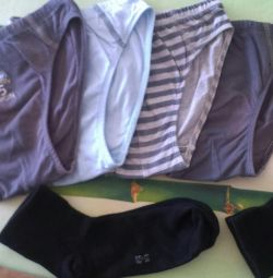Underwear (per boy).