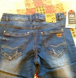 Новые джинсы на мальчика Vkingoss,