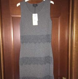 Dress new Luisa Spagnoli Italy wool cashmere