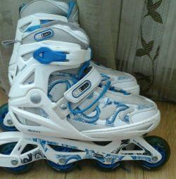 Children slide rollers 36-40
