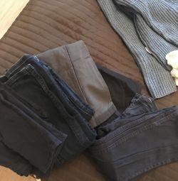 Штаны, джинсы