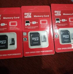 New memory cards 16Gb.32Gb.128Gb.