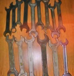 İngiliz anahtarları ve somun anahtarları