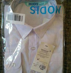 Λευκό πουκάμισο 146 ύψος