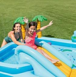 Joc de junglă centru de jocuri gonflabile