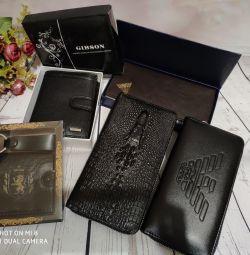 Чоловічі портмоне і гаманці
