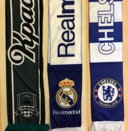 Scarves are football, new, summer