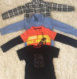 Shirts, T-shirts