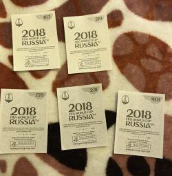 Stickers FIFA 2018