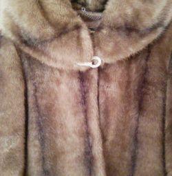 Σύντομη γούνα παλτό επειγόντως! TORG!