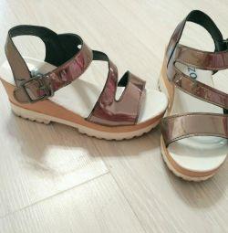 Yazlık ayakkabılar 36 beden