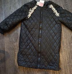 Куртка удлин.новая монклер