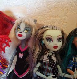 Monster High. Dolls. Frankies, Torah, Cleo, Meow