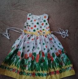 Children's light dress