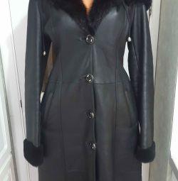 sheepskin coat 44