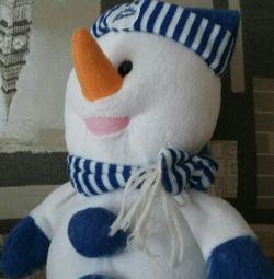Сніговик ручна робота