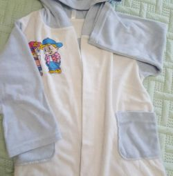 Bathrobe for boy 92-98r