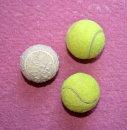 Used tennis ball