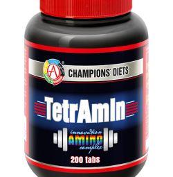 Амінокислоти TetrAmin® Академія-Т 200 табл.