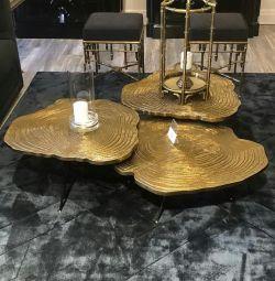 Table design of metal