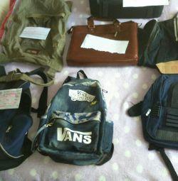 Ο στρατιωτικός σακίδιο και οι τσάντες είναι διαφορετικοί