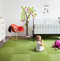 новая коврова дорожка салат цвета 1,3х2,2-2 отреза
