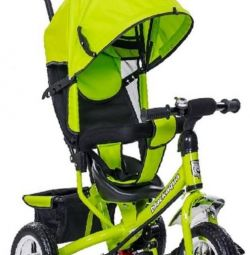 Üç Tekerlekli Bisiklet Siyah Aqua 5588-1 yeşil