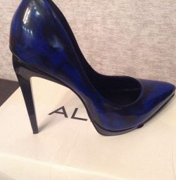 Shoes leather Aldo new
