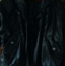 Men's leather jacket 50-52r