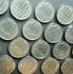 монета 10