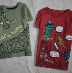 Суперские футболочки на 2-3 года