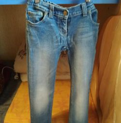 Jeans for the girl 134-140