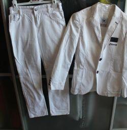 брюки летние armani