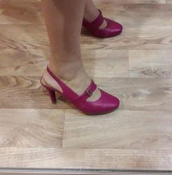 Ayakkabı Unichel hakiki deri