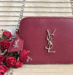 YSL Marsala / Bordeaux'nun yeni çantası