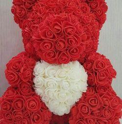 Ursul de trandafiri 40 cm