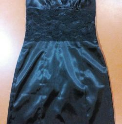 Black evening dress 42-44